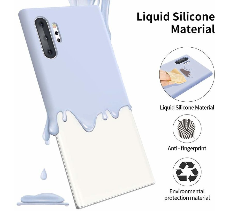 Shieldcase Silicone case Samsung Galaxy Note 10 Plus (paars)