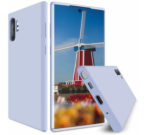 ShieldCase Shieldcase Silicone case Samsung Galaxy Note 10 Plus (paars)