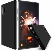 ShieldCase Silicone case Samsung Galaxy Note 10 Plus (zwart)