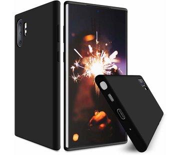 ShieldCase® Silicone case Samsung Galaxy Note 10 Plus (zwart)