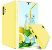 ShieldCase Silicone case Samsung Galaxy Note 10 Plus (geel)
