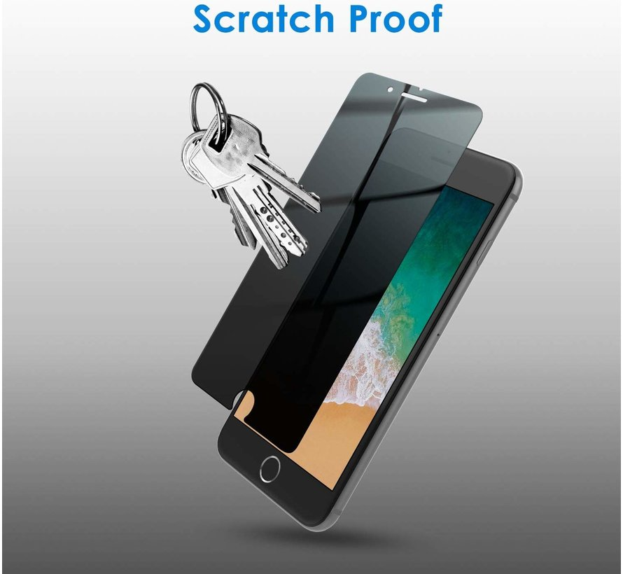 ShieldCase Tempered Glass Privacy Screenprotector iPhone 7/8