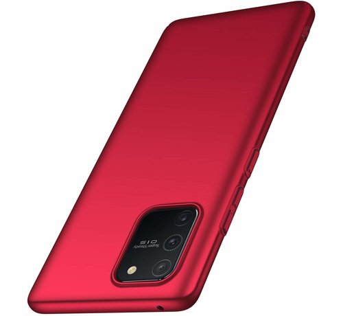 ShieldCase® Shieldcase dun hoesje Samsung Galaxy S10 Lite (rood)