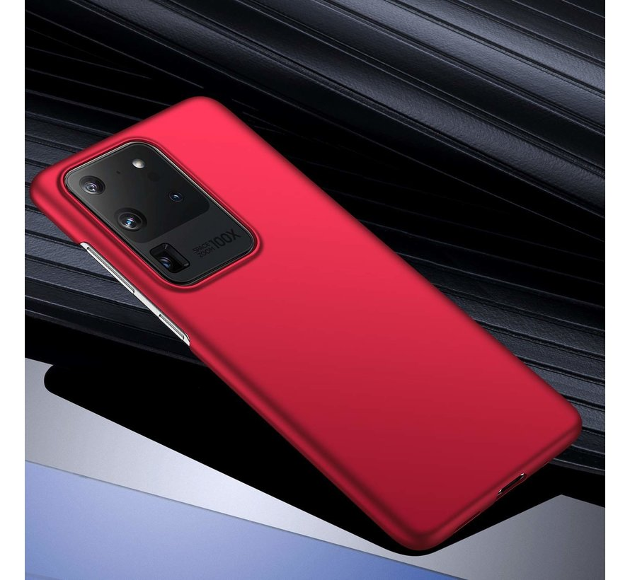 Shieldcase Slim case Samsung Galaxy S20 Ultra (rood)