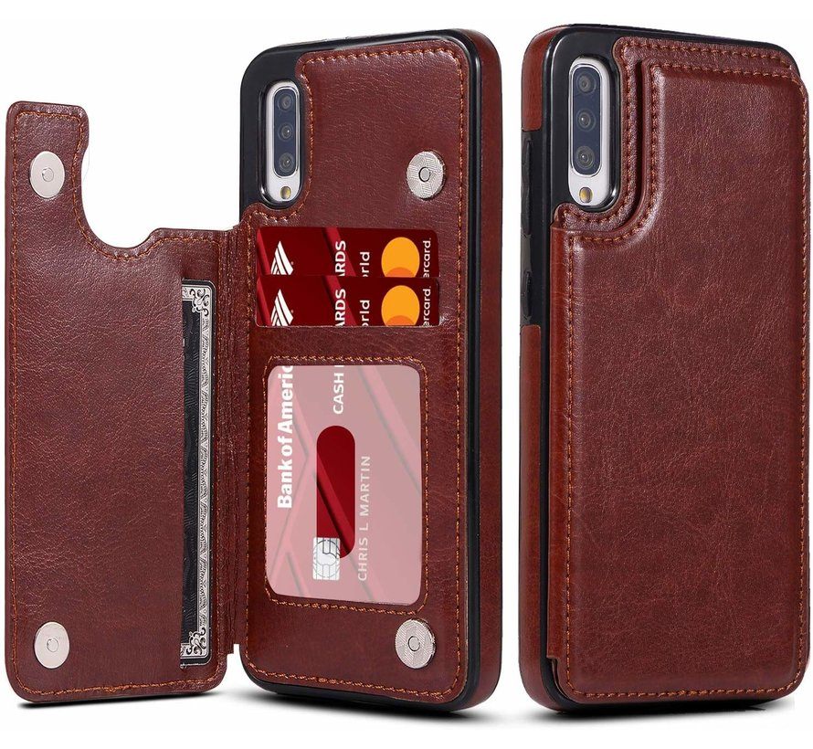 ShieldCase Wallet Case Samsung Galaxy A50 (bruin)