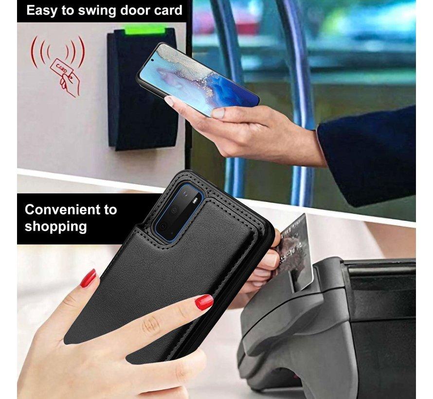ShieldCase Wallet Case Samsung Galaxy S20 (zwart)