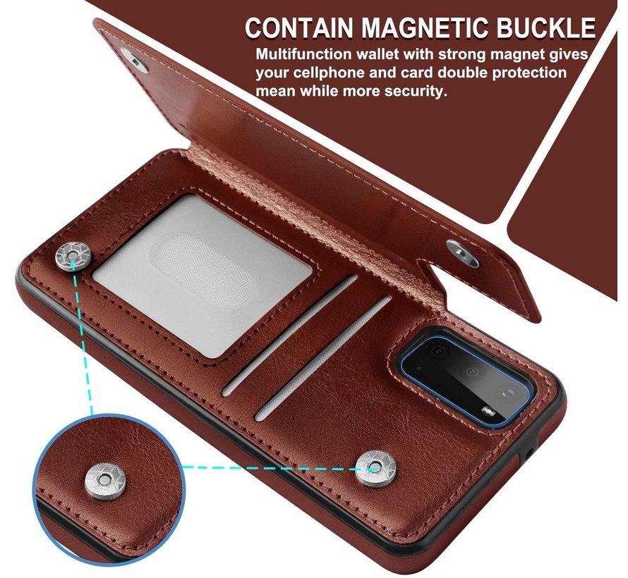 ShieldCase Wallet Case Samsung Galaxy S20 (bruin)
