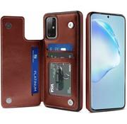 ShieldCase® Wallet Case Samsung Galaxy S20 Plus (bruin)