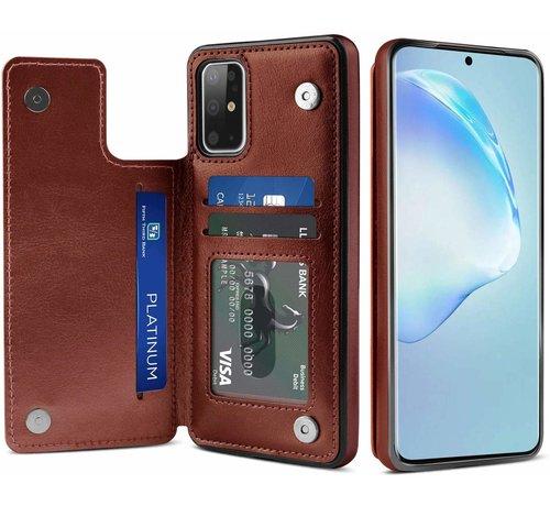 ShieldCase ShieldCase Wallet Case Samsung Galaxy S20 Plus (bruin)