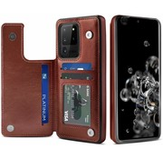 ShieldCase Wallet Case Samsung Galaxy S20 Ultra (bruin)
