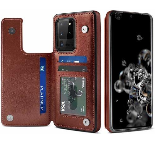 ShieldCase ShieldCase Wallet Case Samsung Galaxy S20 Ultra (bruin)