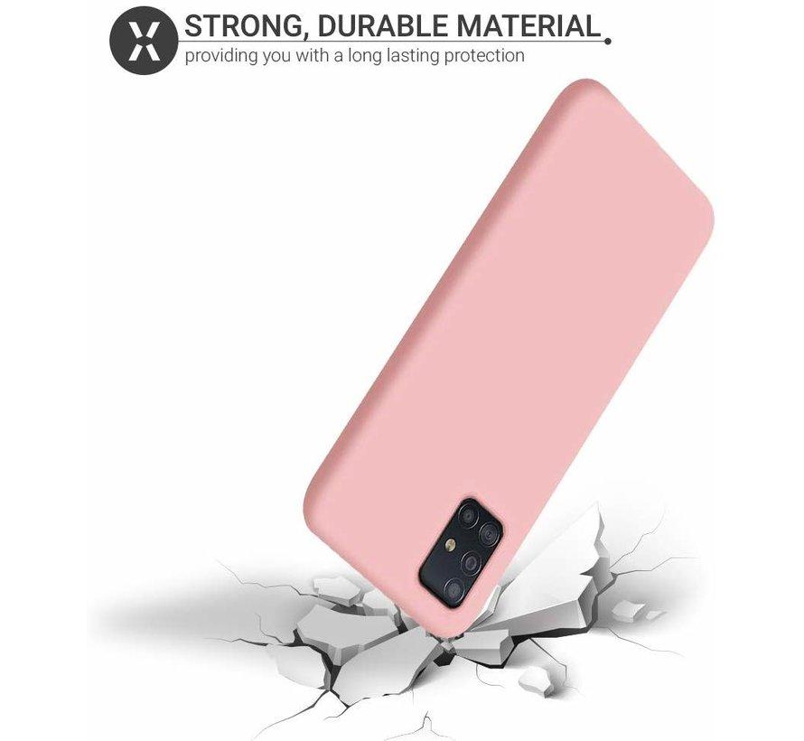 Shieldcase siliconen hoesje Samsung Galaxy A51 (roze)
