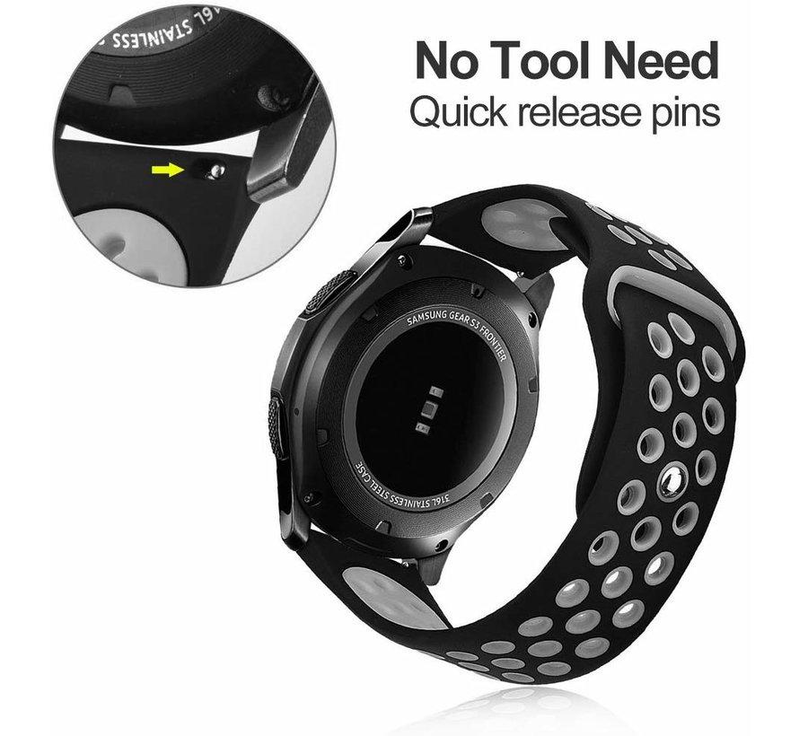 Samsung Gear S3 sport band (zwart/grijs)