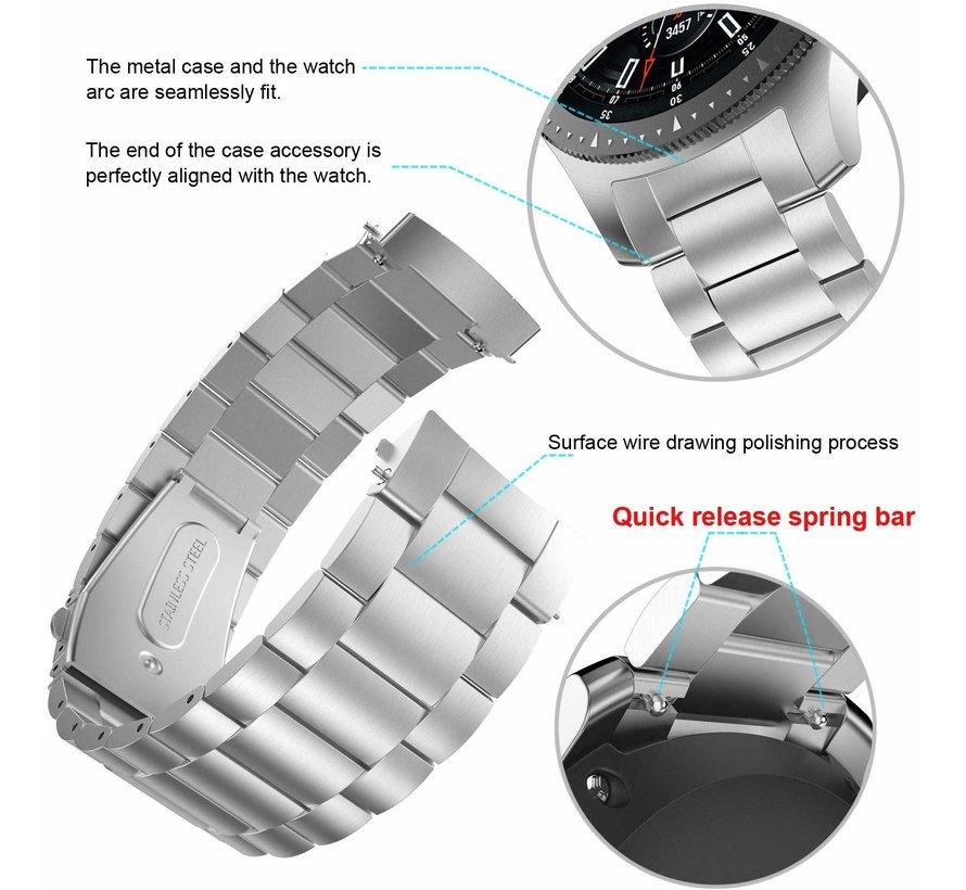 Samsung Gear S3 stalen band (zilver)