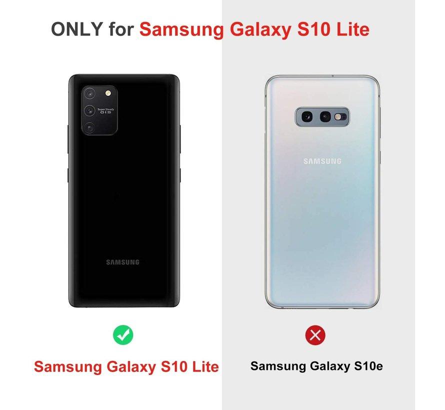 Shieldcase dun hoesje Samsung Galaxy S10 Lite (rood)
