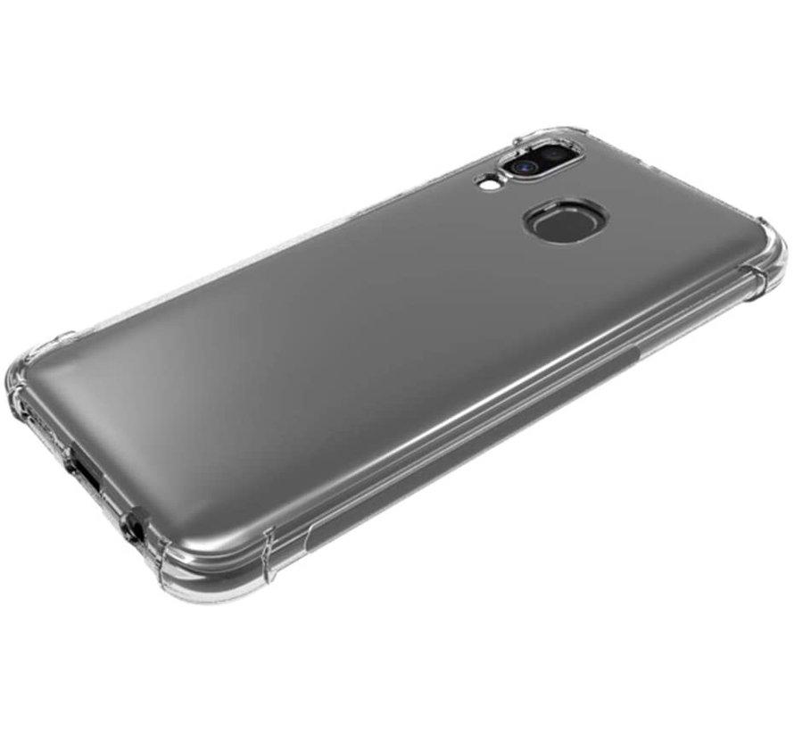 Samsung Galaxy A40 shock case (transparant)
