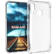 ShieldCase® Samsung Galaxy A40 shock case (transparant)