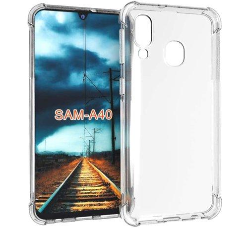 ShieldCase Samsung Galaxy A40 shock case (transparant)