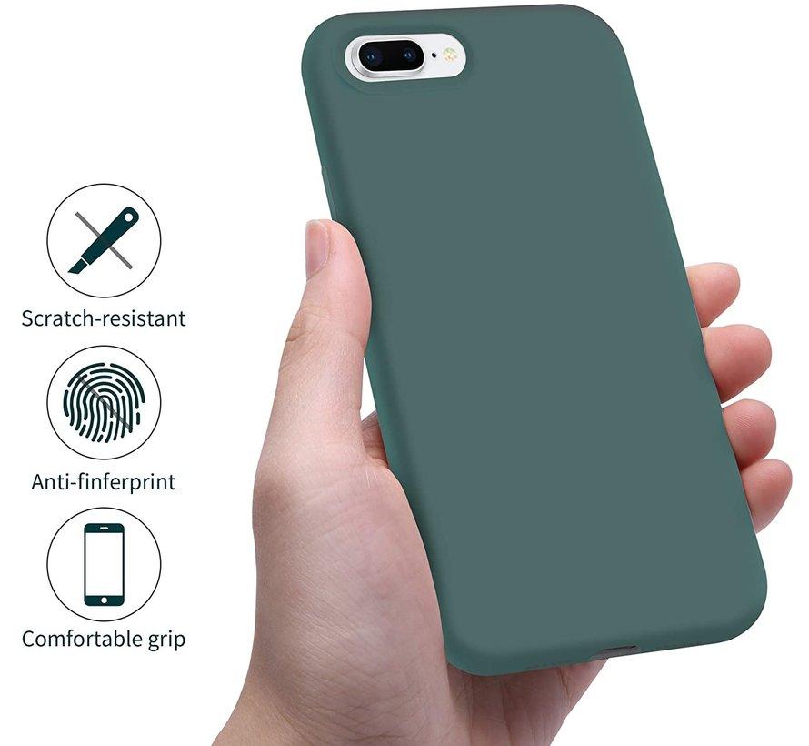 Shieldcase Silicone case iPhone 8 Plus / 7 Plus (donkergroen)