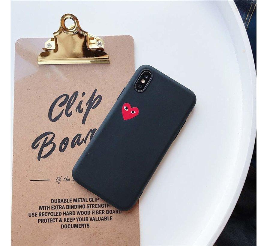 ShieldCase Heart Eyes iPhone Xs Max hoesje (zwart)