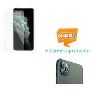 ShieldCase® Tempered Glass Screenprotector + camera glass iPhone 11 Pro Max