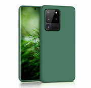 ShieldCase® Siliconen hoesje Samsung Galaxy S20 Ultra (donkergroen)