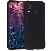 ShieldCase® Silicone case Samsung Galaxy A40 (zwart)