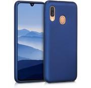 ShieldCase® Silicone case Samsung Galaxy A40 (blauw)