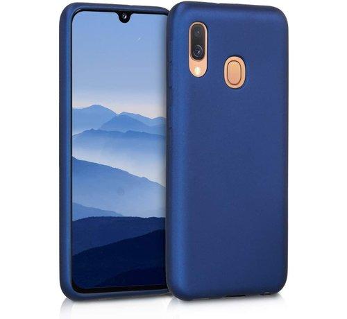 ShieldCase Shieldcase silicone case Samsung Galaxy A40 (blauw)