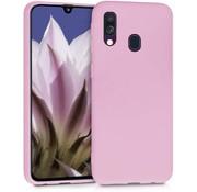 ShieldCase® Silicone case Samsung Galaxy A40 (roze)