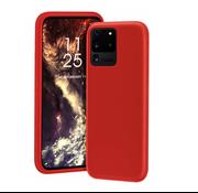 ShieldCase® Siliconen hoesje Samsung Galaxy S20 Ultra (rood)