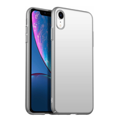 ShieldCase® Ultra thin iPhone Xr case (zilver)