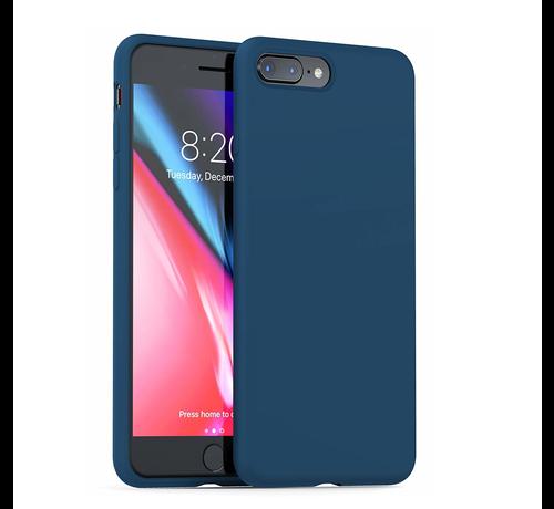 ShieldCase Shieldcase Silicone case iPhone 8 Plus / 7 Plus (blauw)