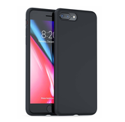 ShieldCase® Siliconen case iPhone 8 Plus / 7 Plus (zwart)