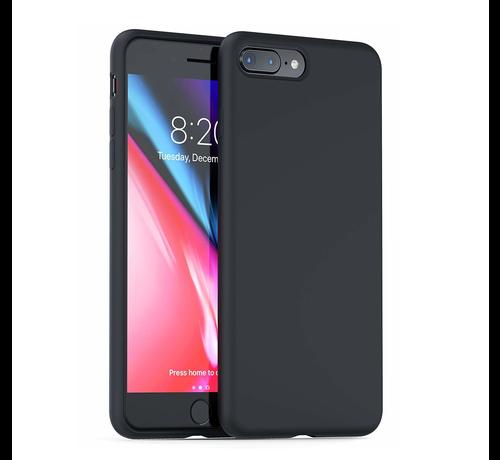 ShieldCase Shieldcase Silicone case iPhone 8 Plus / 7 Plus (zwart)