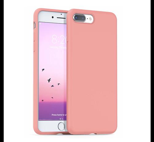 ShieldCase Shieldcase Silicone case iPhone 8 Plus / 7 Plus (roze)