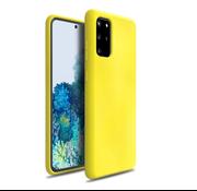 ShieldCase Silicone case Samsung Galaxy S20 Plus (geel)