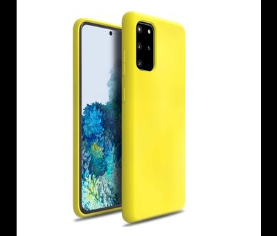 ShieldCase Shieldcase Silicone case Samsung Galaxy S20 Plus (geel)