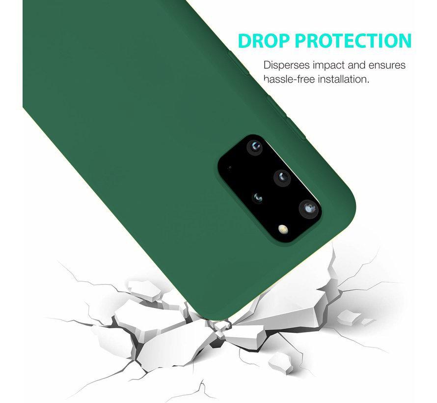 Shieldcase Silicone case Samsung Galaxy S20 Plus (donkergroen)