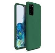 ShieldCase® Silicone case Samsung Galaxy S20 Plus (donkergroen)