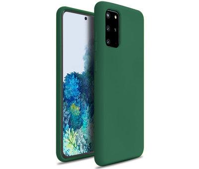 ShieldCase Shieldcase Silicone case Samsung Galaxy S20 Plus (donkergroen)