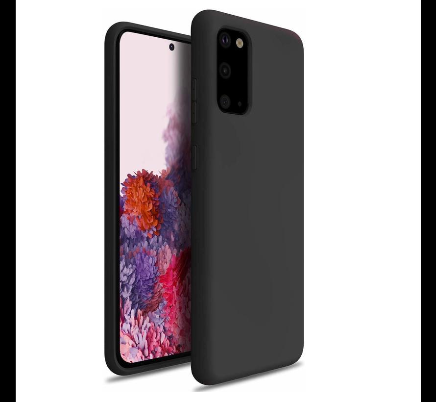 Shieldcase Samsung Galaxy S20 hoesje siliconen (zwart)