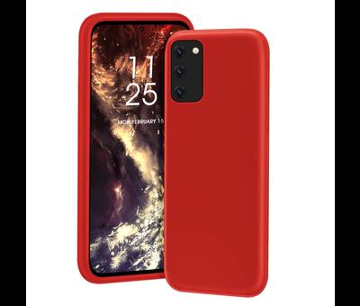 ShieldCase® Shieldcase Samsung Galaxy S20 hoesje siliconen (rood)