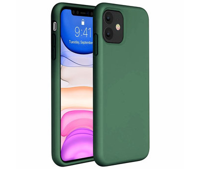ShieldCase® ShieldCase Silicone case iPhone 11 (groen)