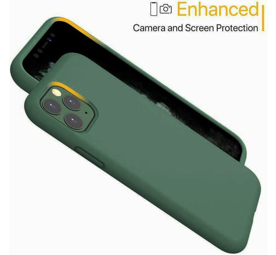 ShieldCase Silicone case iPhone 11 Pro Max (groen)