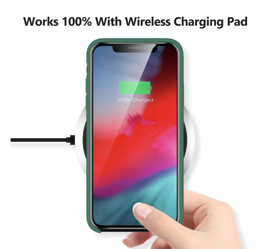 ShieldCase Silicone case iPhone X / Xs (groen)