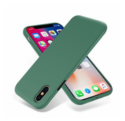 ShieldCase® Silicone case iPhone X / Xs (groen)