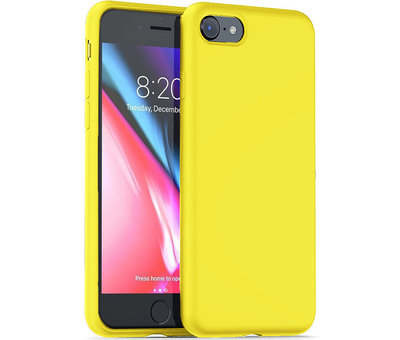 ShieldCase® ShieldCase Silicone case iPhone 7 / 8  (geel)