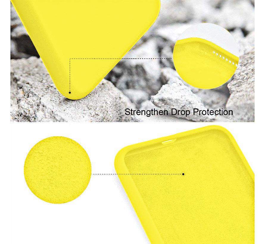 ShieldCase Silicone case iPhone 7 / 8  (geel)