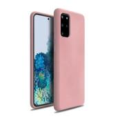 ShieldCase Silicone case Samsung Galaxy S20 Plus (roze)